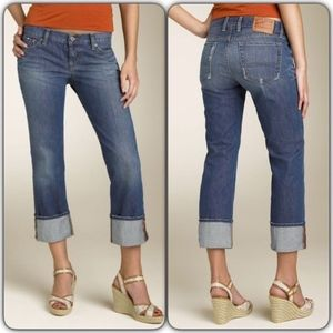 Cuffed Dream Crop jeans - Lucky Brand